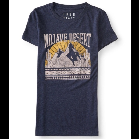 ISO Free State Mojave Desert Tshirt in M/L
